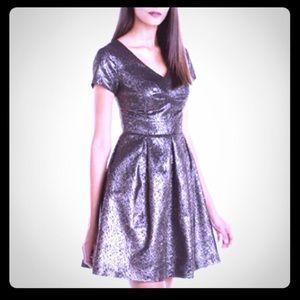 NWT Vince Camuto Womens Sz 2 A Line Dress $159
